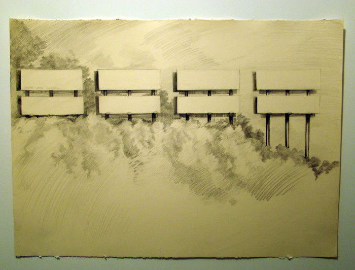 Opportunities, 2010, graphite on paper, 18 x 24 inches