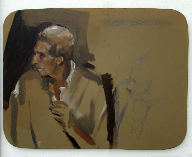 2009, oil on board, 9 x 12 inches